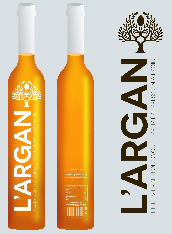 Portfolio Myriam Bouchet - Print- Huile d'Argan Logo et Pack